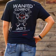 Wanted T Shirt Back