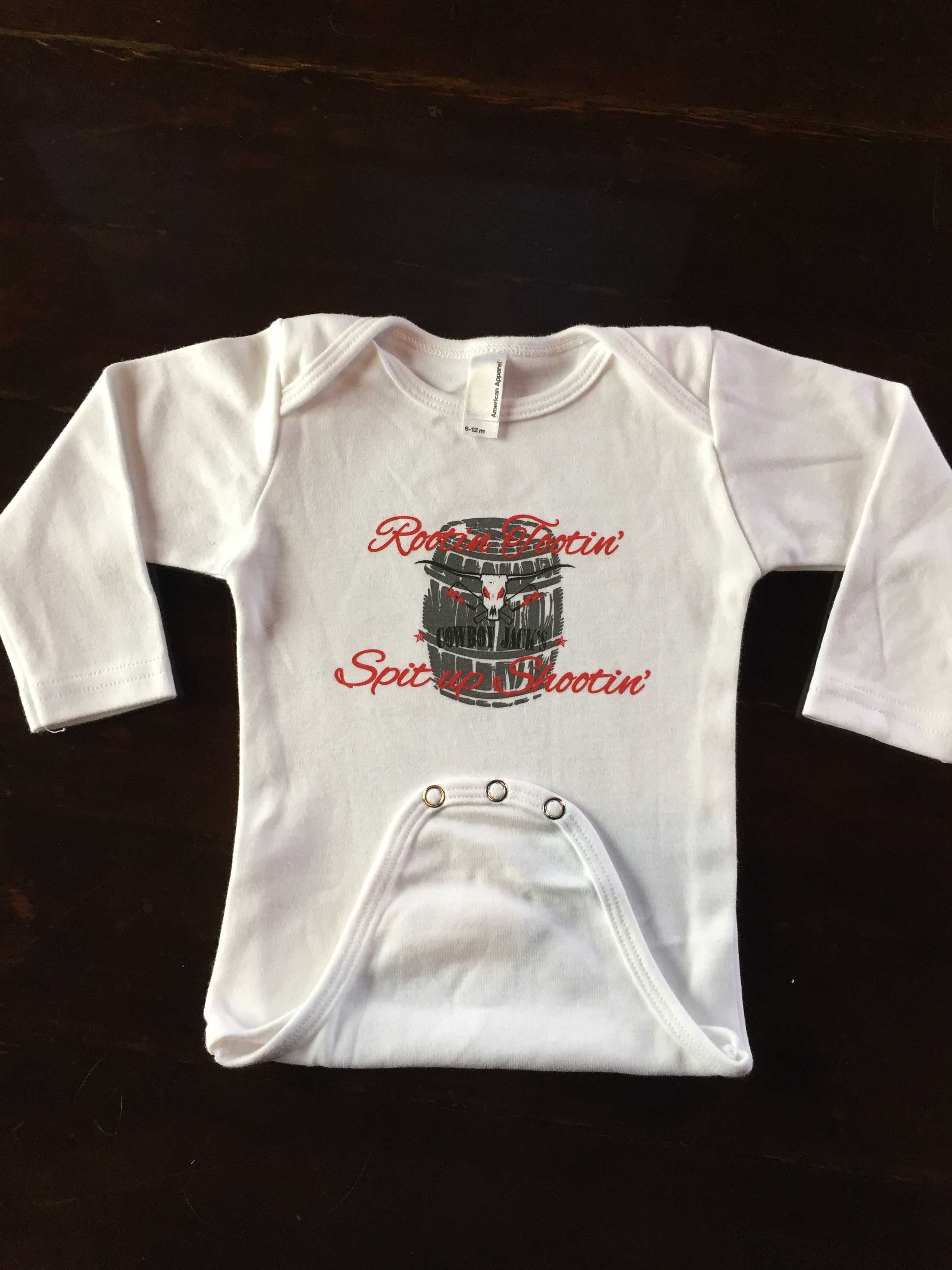 e6f63807e COWBOY JACK'S LONG SLEEVE ONESIES ORGANIC | The After Midnight Group ...